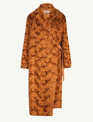 Jil Sander teddy coat