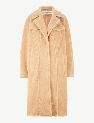 Off White teddy coat