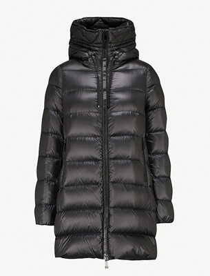 Moncler padded shell coat