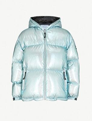 Prada metallic jacket