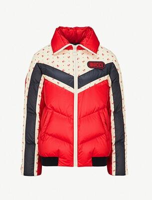 Gucci floral-print jacket