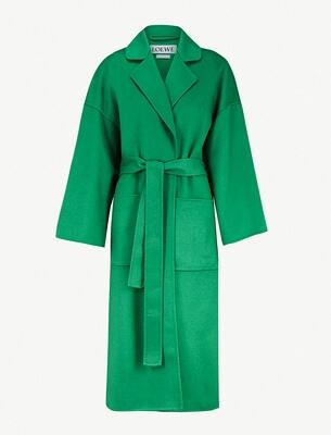 Loewe wool coat