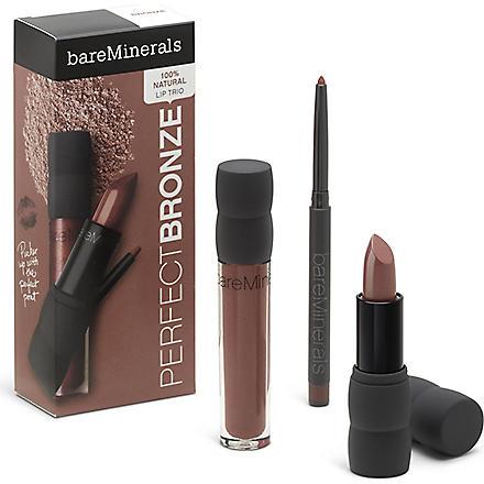BARE MINERALS Natural Lip Trio - Perfect Bronze