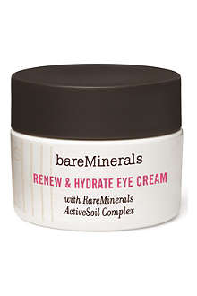 BARE MINERALS Renew and Hydrate eye cream