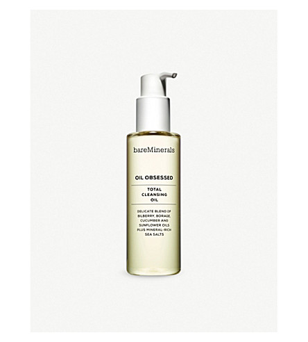BARE MINERALS Oil Obsessed total cleansing oil 175ml