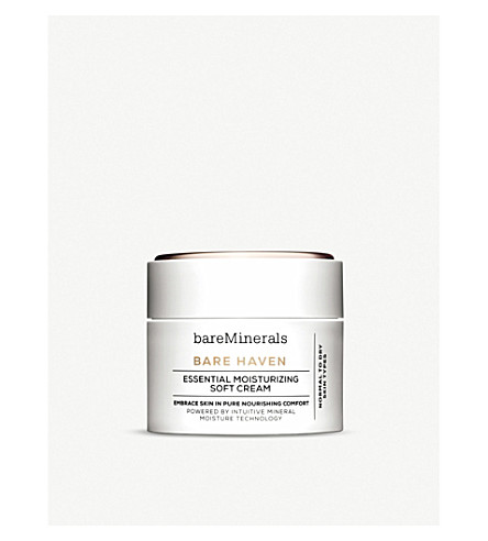 BARE MINERALS Bare Haven essential moisturising soft cream 50ml