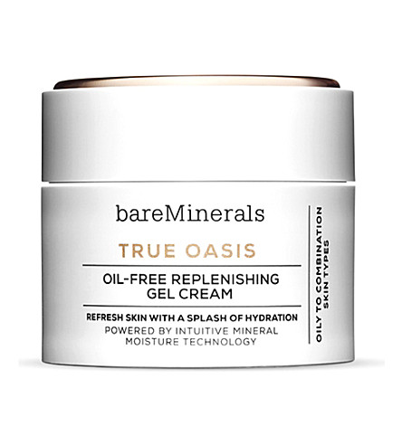 BARE MINERALS True Oasis oil-free replenishing gel cream 50ml