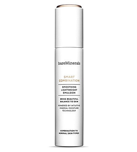 BARE MINERALS Smart Combination smoothing lightweight moisturiser 50ml