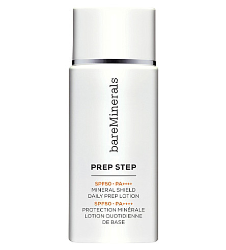 BARE MINERALS Prep Step Broad Spectrum sun cream SPF 50