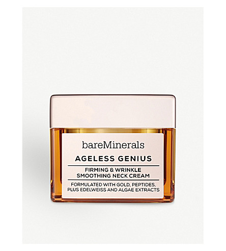 BARE MINERALS Ageless Genius Firming & Wrinkle Smoothing Neck Cream 50g