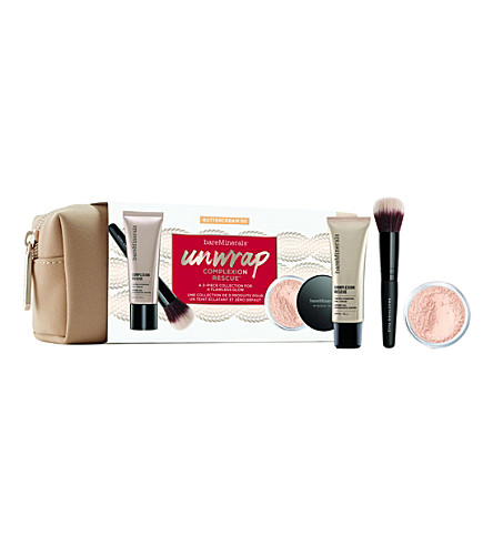 BARE MINERALS Unwrap Complexion Rescue set (Buttercream