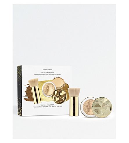 BARE MINERALS Collector's Edition Original SPF 15 Foundation & Brush (Fairly+light