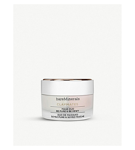 BARE MINERALS Claymates Mask Duo – Be Pure Be Dewy 58g