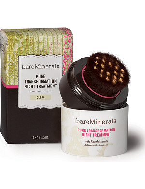 BARE MINERALS Pure Transformation Night Treatment – clear