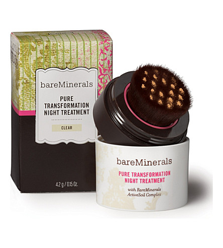 BARE MINERALS Pure Transformation Night Treatment – clear (Clear