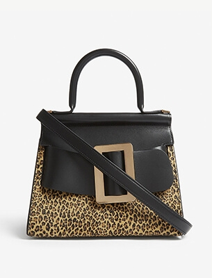 Animal-print bag