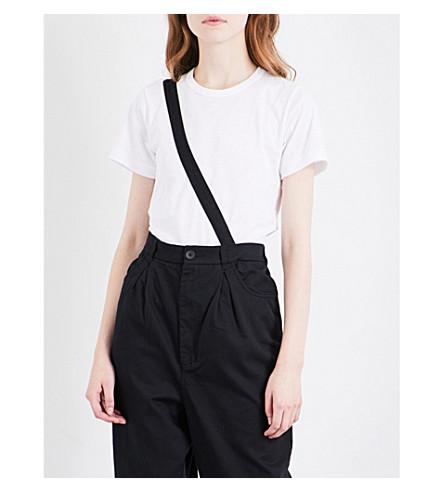 COMME COMME DES GARCONS Loveable Rebel cotton T-shirt (White