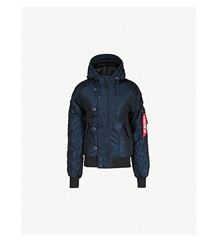 ALPHA INDUSTRIES Hunter II hooded shell field jacket (Rep blue