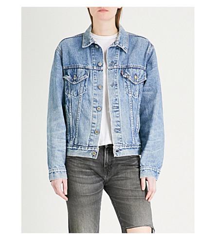 R13 Skull denim trucker jacket (Vintage