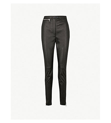 3.1 PHILLIP LIM Skinny leather leggings (Black