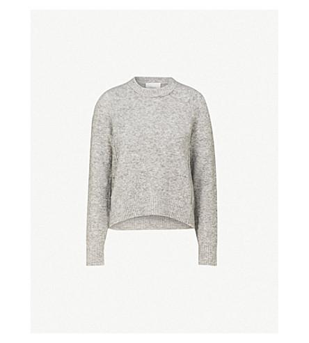 3.1 PHILLIP LIM Crewneck wool-blend jumper (Medium+melange