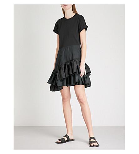 3.1 PHILLIP LIM Flamenco woven cotton dress (Black