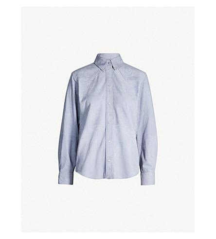 ISABEL MARANT ETOILE Selina suede shirt (Lavender