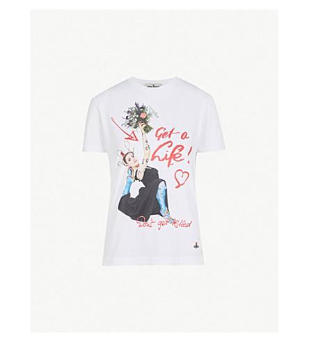 VIVIENNE WESTWOOD 秘鲁棉 T 恤 (白色