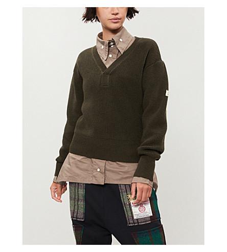 VIVIENNE WESTWOOD 艾米羊毛毛衣 (格林