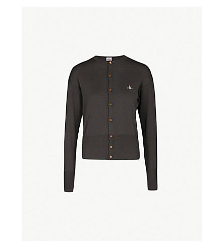VIVIENNE WESTWOOD 经典羊毛开襟衫 (灰色