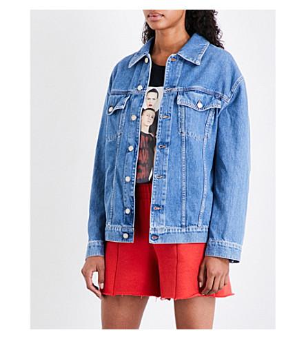 JEREMY SCOTT Viva Avant Garde denim jacket (Blue
