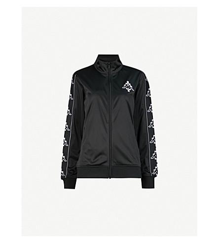 MARCELO BURLON Kappa jersey jacket (Black