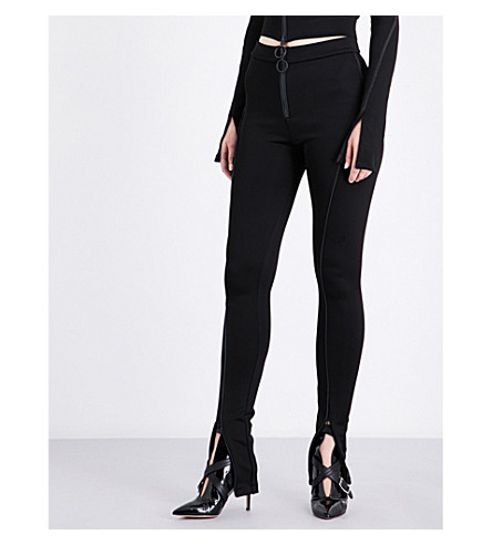 OFF-WHITE C/O VIRGIL ABLOH High-rise jersey leggings (Black
