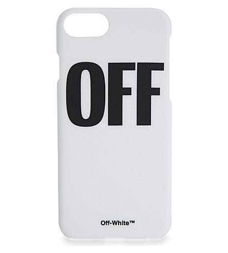"OFF-WHITE C/O VIRGIL ABLOH ""Off"" iPhone case (White+black"