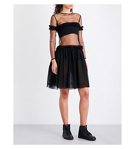 NICOPANDA Tobi tulle dress (Black