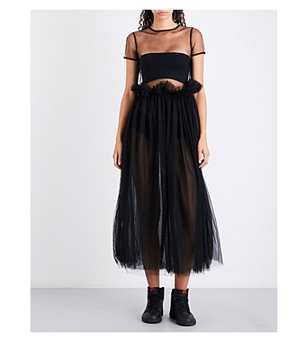 NICOPANDA Billy tulle dress (Black