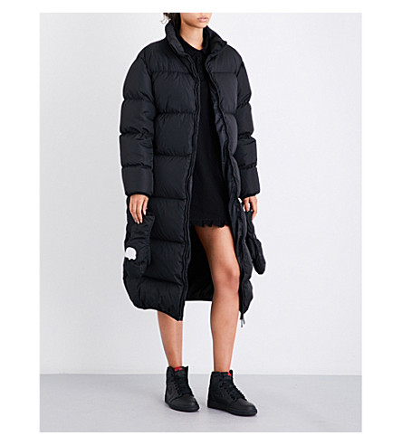 NICOPANDA Uptown quilted shell coat (Black