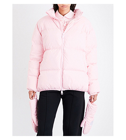 NICOPANDA Uptown quilted shell jacket (Pink