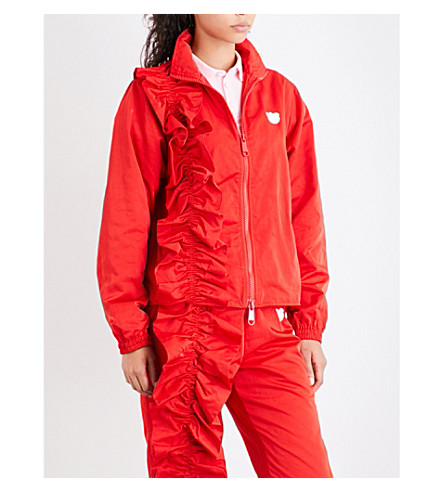 NICOPANDA Warm Up shell parka jacket (Red