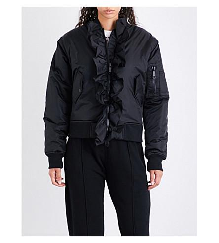 NICOPANDA Kiko shell bomber jacket (Black