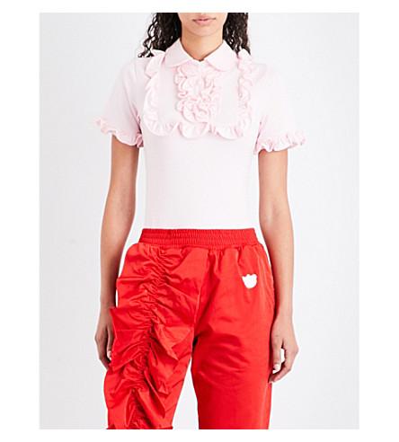 NICOPANDA Sisters cotton-piqué body (Pink