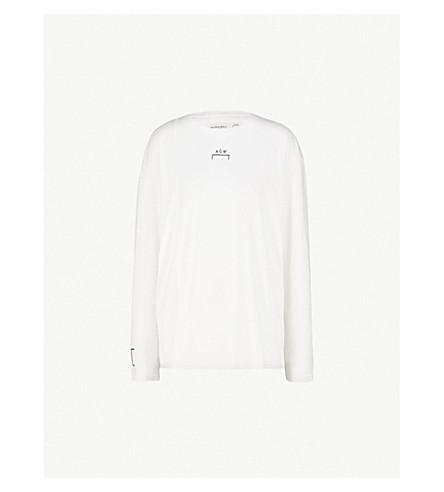 A-COLD-WALL Logo-print cotton-jersey T-shirt (White