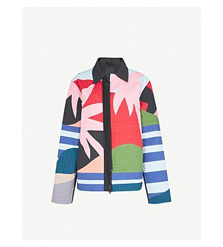 CRAIG GREEN Paradise Desert quilted cotton jacket (Acid
