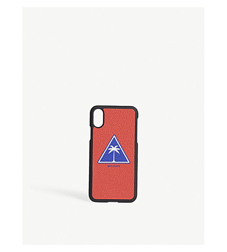 PALM ANGELS Logo iPhone X case (Red