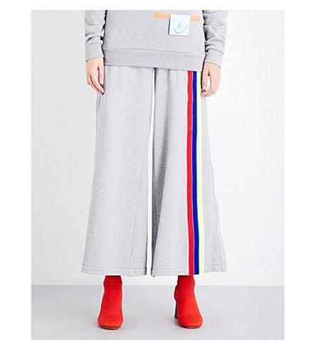 FYODOR GOLAN Post-It cotton-jersey jogging bottoms (Grey