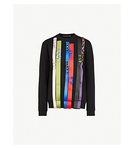 FYODOR GOLAN Jetstream cotton-blend sweatshirt (Black
