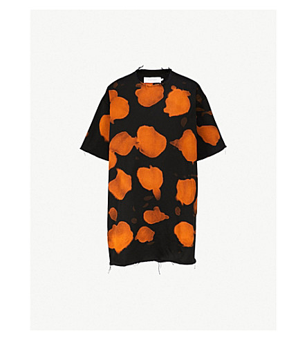 MARQUES'ALMEIDA Oversized tie-dye cotton T-shirt (Bleach