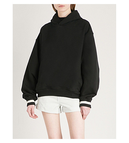 FEAR OF GOD Fifth Collection oversized cotton-jersey hoody (Black
