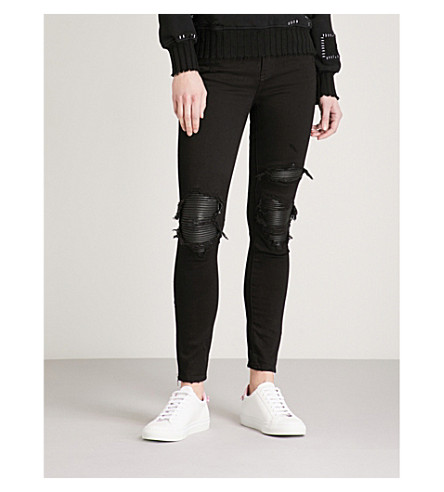 AMIRI MX1 slim-fit skinny jeans (Black