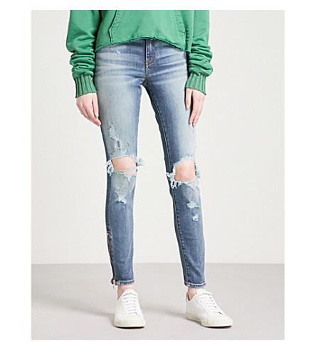 AMIRI Thrasher slim-fit skinny mid-rise jeans (Indigo